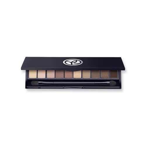 Couleurs Make-up-palette (Yves Rocher COULEURS NATURE Lidschatten-Palette 01 Nude, Eyeshadow Palette Nude-Töne, inkl. Spiegeldose & Applikator, 10 x 0,7 g)