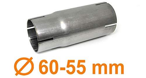 Tenzo-R 37377 Edelstahl Auspuff Rohr Reduzierstück Verbindung Adapter -