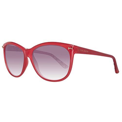 Ted Baker Sonnenbrille Damen Rot