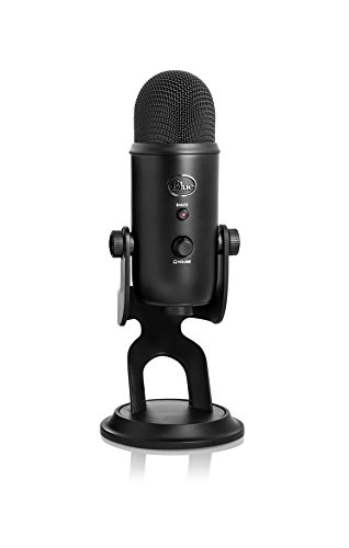 Blue Yeti USB Microphone Blackout Edition
