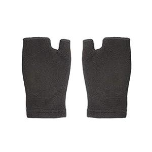 SUPVOX Wrist Guards Riding Glove Übung und Fitness Wrist Support Anti-Rutsch-Handschuh (schwarz)