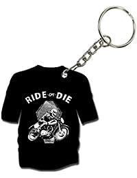 Ride Or Die | Turnhover | Wooden Printed Keyring