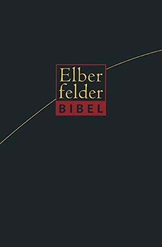 Elberfelder Bibel - Standardausgabe Leder Goldschnitt: Revision 2006