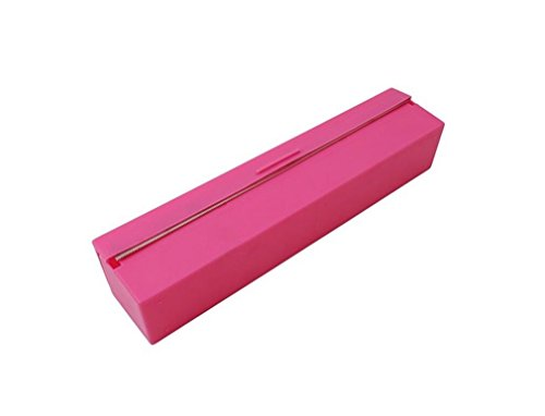 SHANF Frischhaltefolienschneider Küchenfolie und Frischhaltefolienspender Küchenwerkzeug (Rosa)