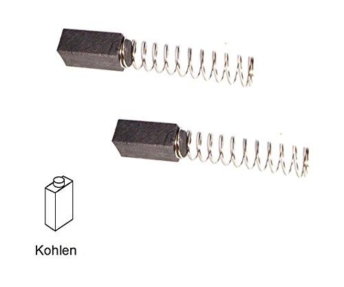 ULFATEC Kohlebürsten kompatibel mit BLACK & DECKER DNJ 450, DNJ 452, DNJ 454, DNJ 550, DNJ 552-6 x 6 x 15 mm (2109) -