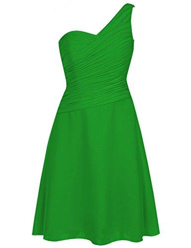 HUINI Damen Kleid Light_Green