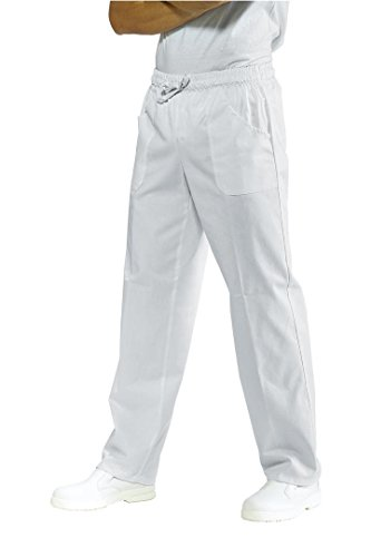 Pantalone Sanitario Bianco Elastico 5XL