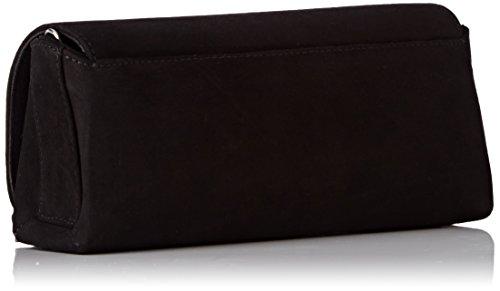 Unisa Zdream_17_ks, Clutch Donna, 6x10x22 cm (B x H x T) Nero (Black)