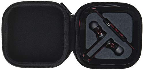 Sennheiser Momentum in-ear G Black - Auriculares con cable para móvil (control remoto integrado, compatible entre otros con Samsung Galaxy), negro y rojo