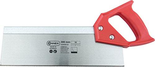 Connex COX809135 Scie à dos avec poignée en matière plastique 10 dents par pouce 300 mm