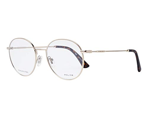 Police Brille Highway 7 (VPL-665 594Y) Metall hell gold