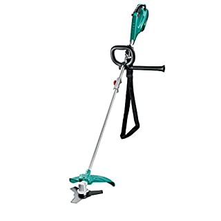 Bosch Strimmer AFS 23-37 (three-prong blade, spool for cutting line, 3x cutting lines, auxiliary handle, protective guard, cardboard box, 950 W)