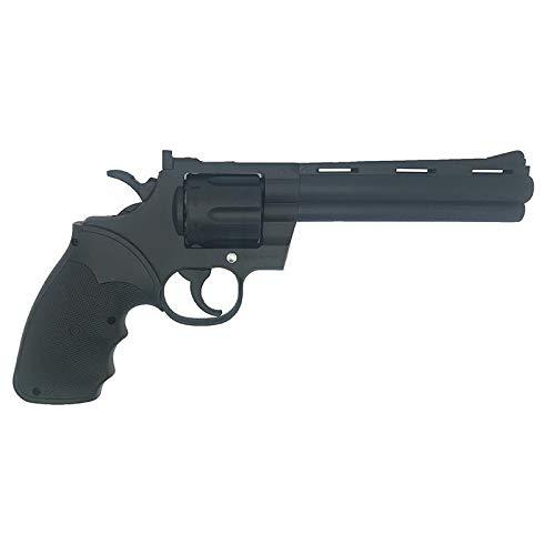 Galaxy G35 Spring revólver | Pistola Airsoft (de Bolas PVC/plástico) Calibre 6mm Estilo Python .357 - Potencia <3.5 Julios
