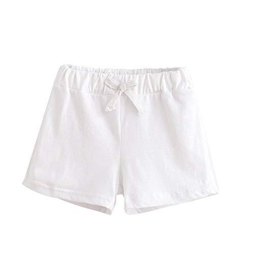 Beikoard Babykleidung Baby Fashion Hosen Sommer Kinder Baumwolle Shorts Jungen und Mädchen Kleidung Unisex Short - Creme Baumwolle Mischung