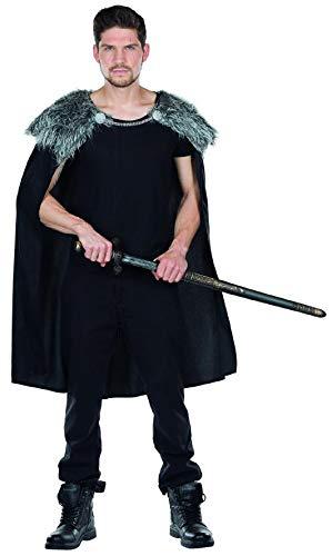 Rubie's Wolfskrieger Cape Herren Kostüm Umhang Krieger