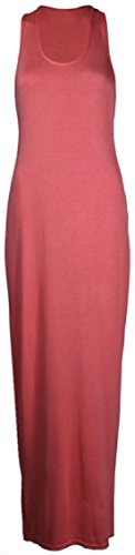 Sugerdiva - Robe - Moulante - Femme Corail