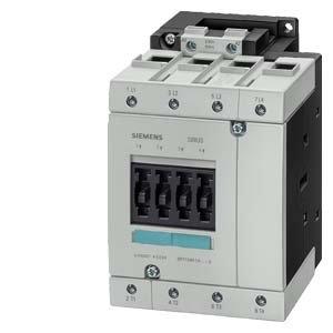 SIEMENS SIRIUS - CONTACTOR AC-1 100A CORRIENTE CONTINUA 110V 4 POLOS TAMAñO S3 CONEXION TORNILLO