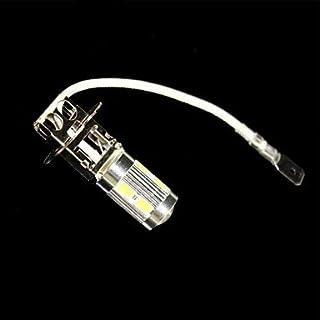 2 x H3 10 x 5W SMD 5630 LED White Light for Car Fog Light (DC 12V)