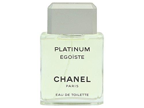 Chanel Egoiste Platinum Homme/Men, Eau de Toilette, Vaporisateur/Spray, 1er Pack (1 x 50 ml) (Eau Toilette De Kokos-vanille)