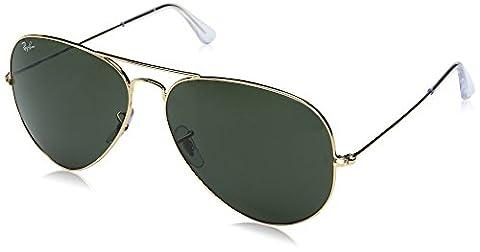 Ray-Ban mixte adulte Rb 3025 Montures de lunettes, Or (Gold), 62