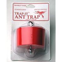 Wildlife Accessories-Contenitore per alimenti Trap-It, colore: rosso-Trappole per formiche