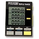 Paterson PTP800 - Temporizador triple, color negro