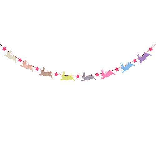 BESTOYARD Baby Geburtstag Banner niedliche Girlande Girlande Flaggen Dekoration für Baby-Dusche