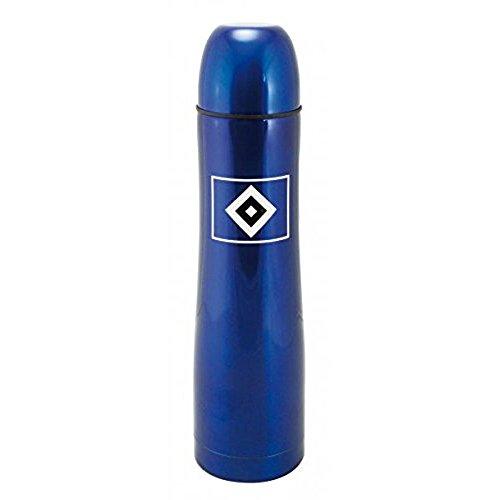 Hamburger SV Thermoflasche mit Becher in blau