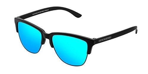 HAWKERS · CLASSIC · Carbon Black · Clear Blue · Gafas de sol para hombre y mujer