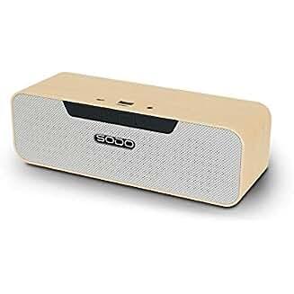Ad: 5W+5W stereo bluetooth wireless speaker with NFC FM USB TF AUX & TWS