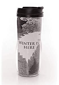 "ABYstyle - GAME OF THRONES - Taza da Viaje - ""Winter is coming"""