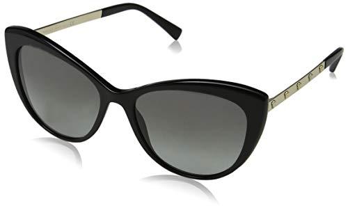 Versace Damen 0VE4348 GB1/11 57 Sonnenbrille, Schwarz (Black/Gradient),