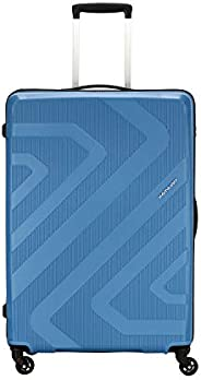 Kamiliant by American Tourister KAM Kiza Polypropylene 79 cms Ash Blue Hardsided Check-in Luggage (KAM KIZA SP