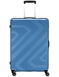 Kamiliant by American Tourister KAM Kiza Polypropylene 79 cms Ash Blue Hardsided Check-in Luggage (KAM KIZA SP 79CM - ASH BLUE)