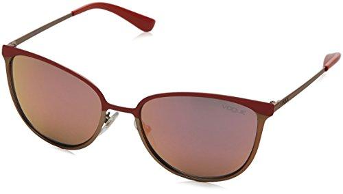 Vogue - Occhiali da Sole - Donna, Rosso (Matte Coral)