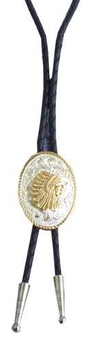 Amesbichler Bolo Tie Indios de Western Cowboy Corbata bolotie Western Corbata Western Joyas Collar Correa de Piel