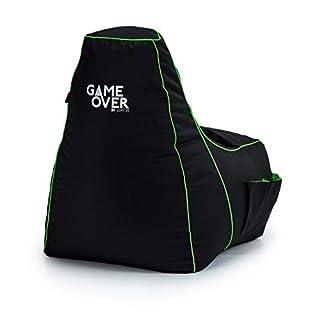 Loft 25® GAME OVER Fel Magic (Lime) Bean Bag Gaming Chair