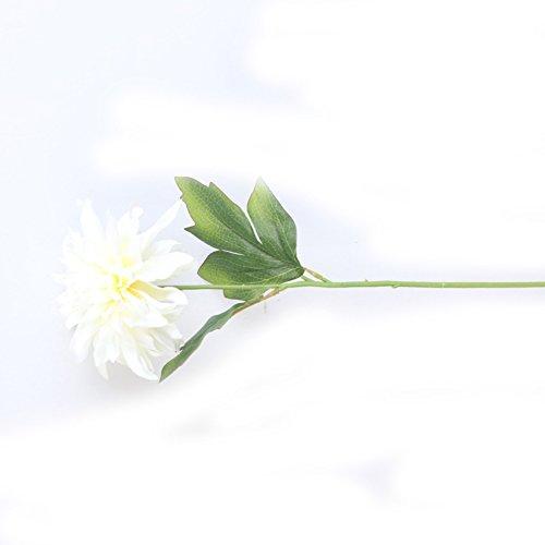 RYcoexs 1 Têtes De Mode Artificielle Pivoine Fleur De Noce Bouquet Décor À La Maison Cadeaux Beige