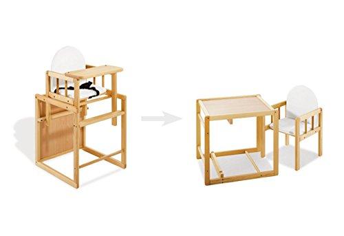 Pinolino – 151303 – Kombihochstuhl Nele – leicht umbaubar zur Stuhl-Tisch-Kombination – Maße 44 x 50 x 88 cm - 2