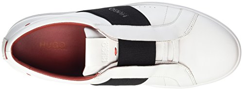 Hugo Post_slon_lt 10197291 01, Sneakers Basses Homme Blanc (Open White)