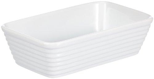 Küchenprofi 750118220 Auflaufform, rechteckig 20 cm aus Hartporzellan