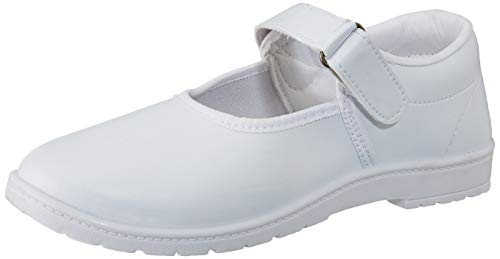 Lakhani Unisex Kid's White Sneakers-4 UK/India (37 EU) (Good Time (VTW) 268)