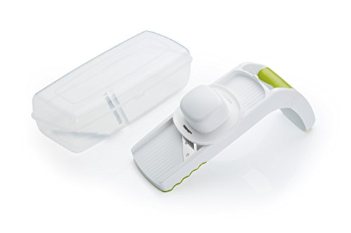 Kitchen Craft 6Mandoline Hobel-Set, weiß/grün - Handbuch Lebensmittel-slicer