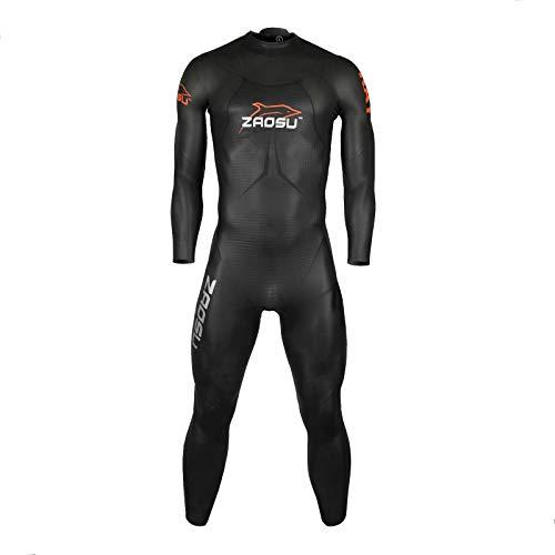 ZAOSU Herren Neoprenanzug RAY 2018 Limited Edition   Premium Triathlon Wetsuit Openwater - Flexibler Freiwasser-Neoprenanzug mit hohem Auftrieb, Größe:M