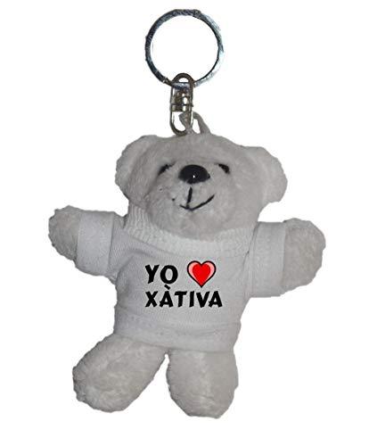 Shopzeus Llavero de Oso Polar de Peluche con Amo Xàtiva en...