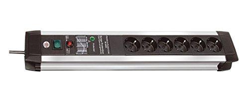 Premium-Protect-Line 60.000A Überspannungsschutz-Steckdosenleiste 6-fach 3m H05VV-F 3G1,5