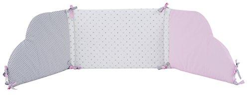 P 'tit Basile-Nestchen Baby für Bett, maße 60x 120cm oder 70x 140cm. Baumwolle aus biologischem Anbau-Collection Mädchen Claudine - Claudine Collection
