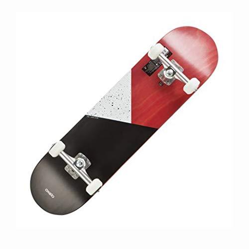 YXLZZO Skateboard mit Vier Rädern Einsteiger-Skateboard für Anfänger Jungen und Mädchen OXELO SK