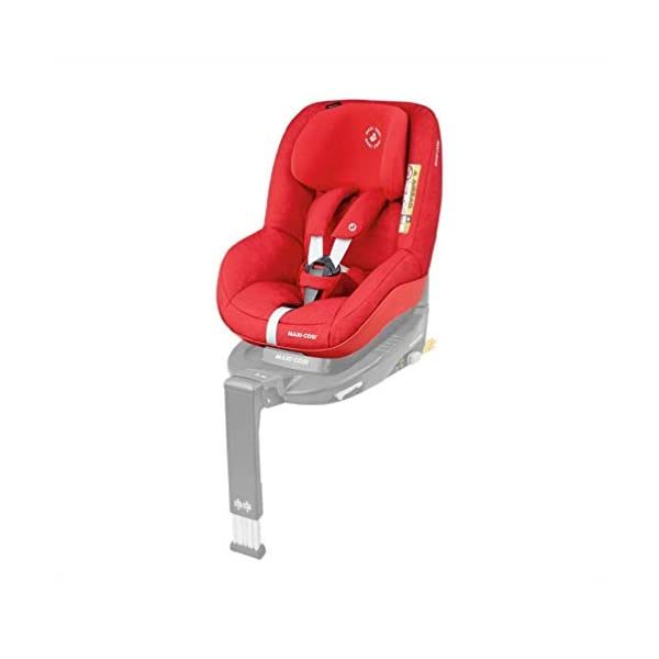 Maxi-Cosi Pearl Toddler Car Seat Group 1, ISOFIX Car Seat, Compact, 9 Months-4 Years, 9-18 kg, Nomad Red with FamilyFix ISOFIX Base Suitable for CabrioFix and Pearl, Black Maxi-Cosi Isofix anchorages provides the safest, easiest and quickest way to install a car seat Innovative stay open harness stays open to easily get the child in and out in seconds ISOFIX car seat base suitable for children up to 18 kg (from birth to 4 years) 2