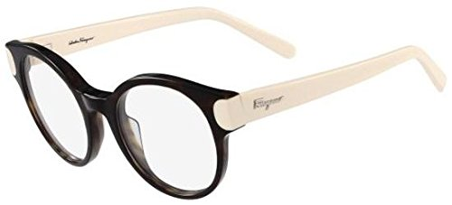 Salvatore ferragamo occhiali da vista sf2757 tortoise ivory donna